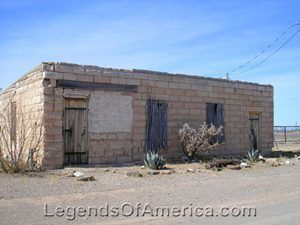 Abandoned in Hachita, New Mexico