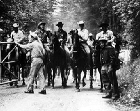 Posse in the Old West