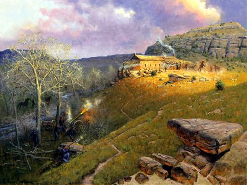 Robber's Roost, painting by Wayne Cooper