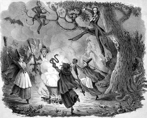 A witch dance