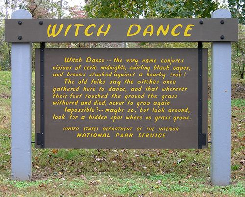 Witch Dance on the Natchez Trace Parkway