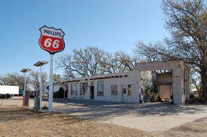 Bent Door Trading Post in Adrian, Texas