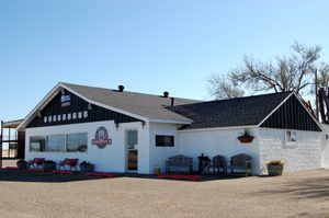 Midpoint Cafe in Adrian, Texas