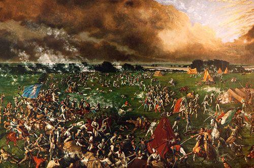 Battle of San Jacinto by Henry Arthur McArdle
