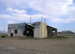 An old business in Cisco, Utah