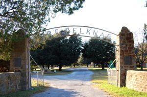 Fort Belknap, Texas entrance