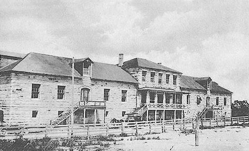 Fort Clark Quartermaster's Building