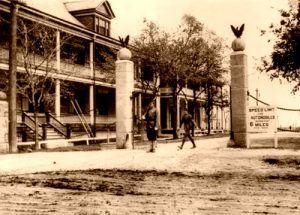 Fort Sam Houston Entrance about 1912