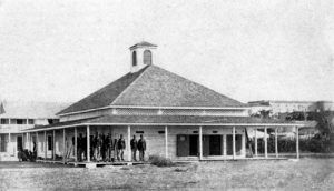 Guardhouse at Fort Brown, Texas