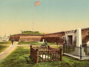 Fort Moultrie in 1900