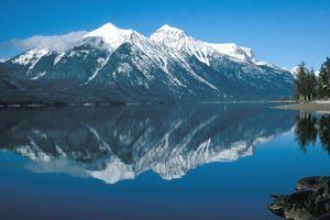 Lake McDonald at Glacier National Park.
