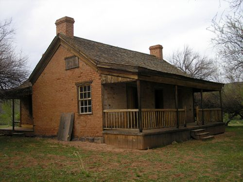Grafton, Utah - John Wood Home