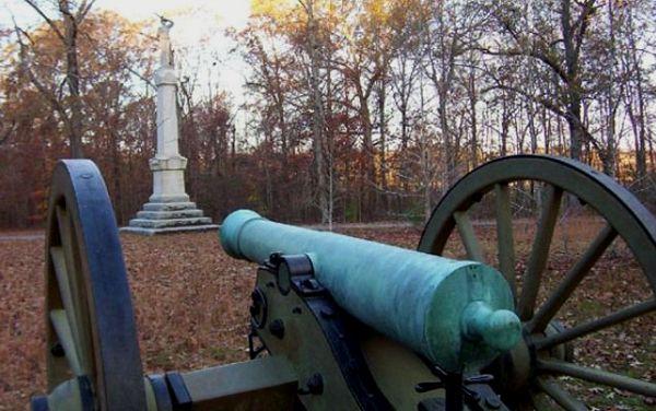 Hornets' Nest, Battle of Shiloh, Tennessee