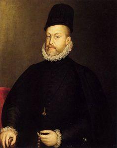King Philip II Spain