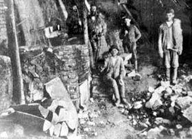 Inside an Ozokerite Mine