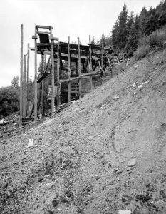 Sping Canyon, Utah Mining Ruins