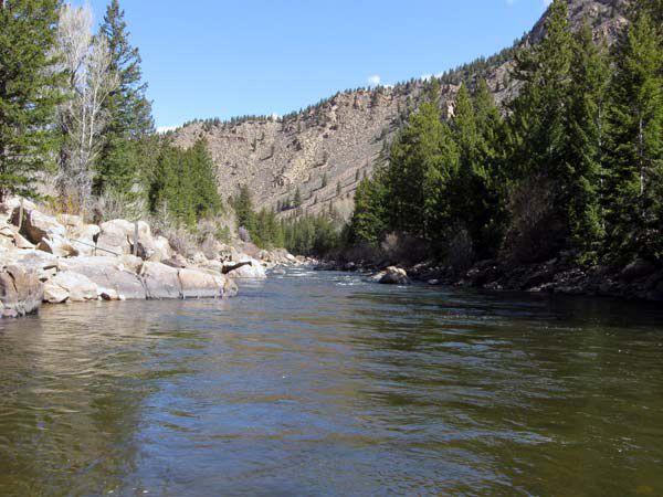 The Arkansas River below Granite, Colorado