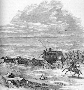 Attack on the Overland Trail