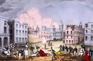 Bombardment at Veracruz, March 25, 1847 E.B. and E.C. Kellogg, 1847