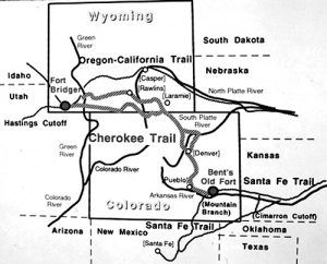 Cherokee Trail Map, courtesy Playground Trail