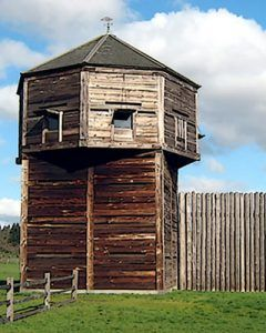 Fort Vancouver today courtesy Clark County, Washington.
