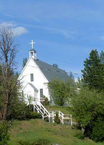 St. Joseph's Catholic Church in Idaho City, Idaho