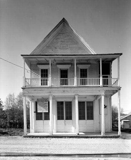 Masonic Hall in Idaho City, Idaho