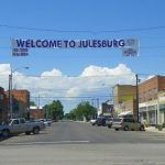 Julesburg, Colorado today, courtesy Uncover Colorado