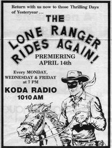 Lone Ranger Radio Show