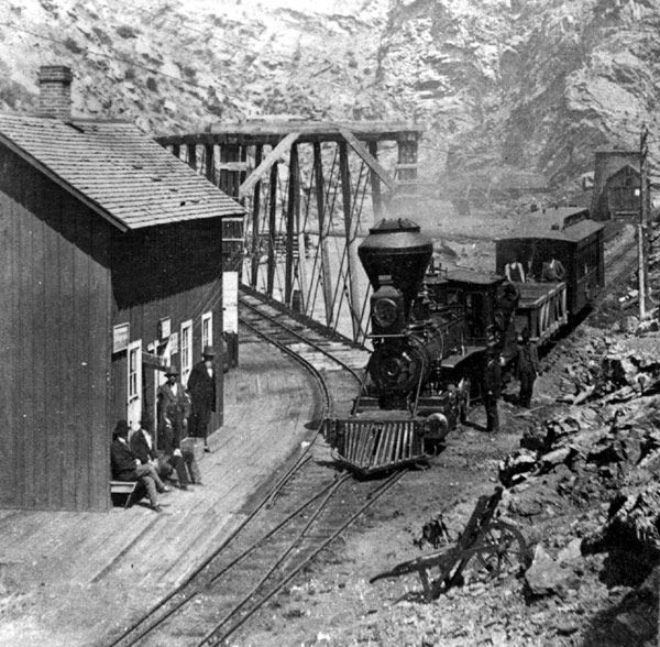 Narrow Guage Railroad, Idaho Springs, Colorado