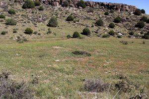 Point of Rocks on the Santa Fe Trail, New Mexico