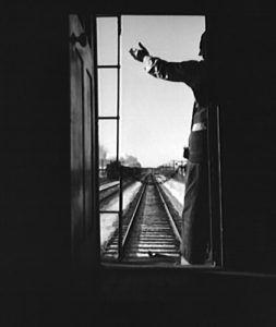 Railroad Worker, by Jack Delano, 1943