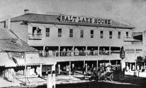 Salt Lake House, Pony Express Station, Salt Lake City, Utah