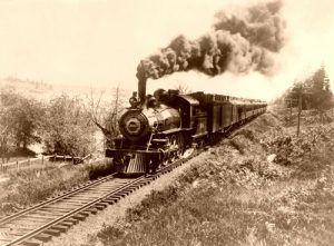 Santa Fe Railroad 1900