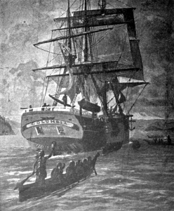 Robert Gray's ship the Columbia