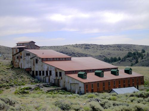 The Carissa Mine, South Pass City, Wyoming