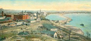 St. Joseph, Missouri on the Missouri River