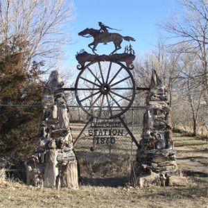 Deer Creek Station Marker, Glenrock, Wyoming