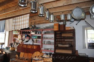 Thomas General Store interior, Old World Wisconsin