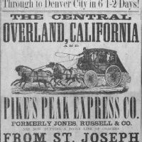 Central Overland, California & Pike's Peak Express Company