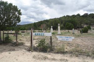 Abreu family cemetery, Rayado, New Mexico