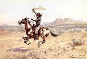 Apache Warrior by Herman Wendleborg Hansen