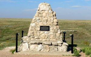 Battle Conyon Monument in Scott County, Kansas