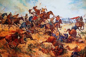 Battle of San Pascual, California by Colonel Charles Woodhouse