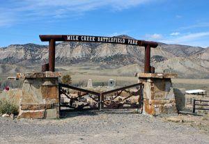 Battle of Milk Creek site in Colorado