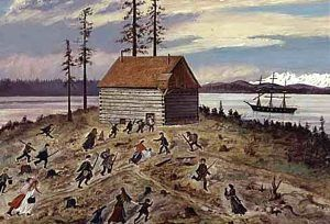 Battle of Seattle by Emily Inez Denny