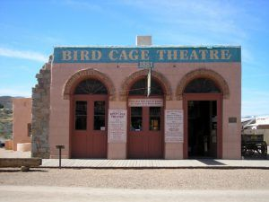 Bird Cage Theatre today, Tombstone, Arizona by Kathy Weiser-Alexander.