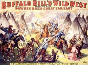Buffalo Bill Cody recreates the Summit Springs Battle