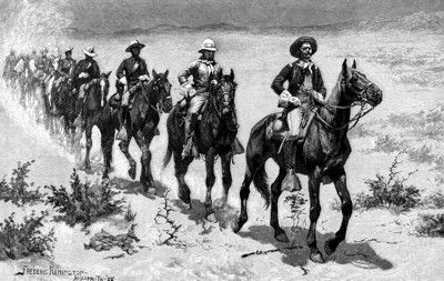 Buffalo Soldiers Riding