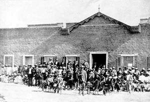 Camp Grant Massacre Trial location in Tucson, Arizona